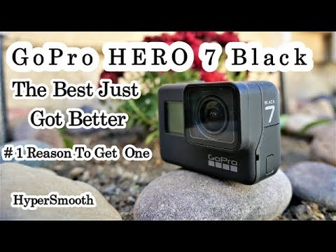 The New GoPro 7 At The Autoshow - No More Shaky Footage - Hypersmooth