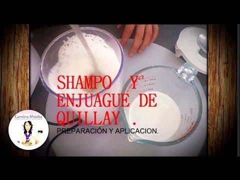 Shampoo y enjuague quillay