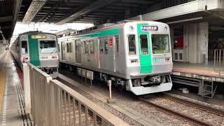 【京都市営地下鉄】10系並び 1111Fゾロ目 LED更新に三菱SIC機器更新車