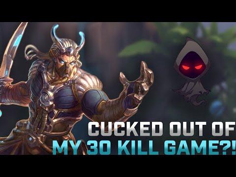 HUGE 30 KILL AO KUANG GAME!! - SMITE