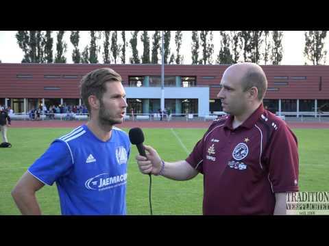 Nach dem Testspiel SV Empor Berlin-BFC Dynamo Tobias Scharlau im Interview 15.7.2015
