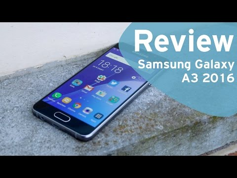 Samsung Galaxy A3 2016 review (Dutch)