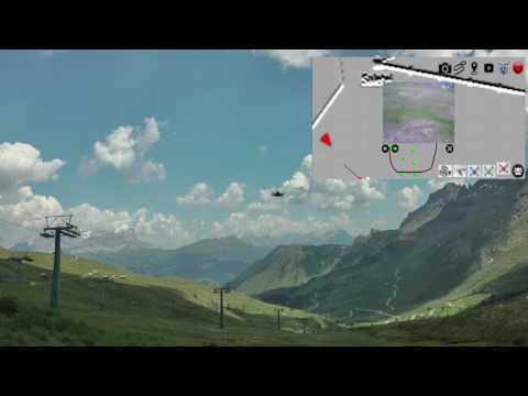 A control architecture for multiple drones operated via multimodal interaction