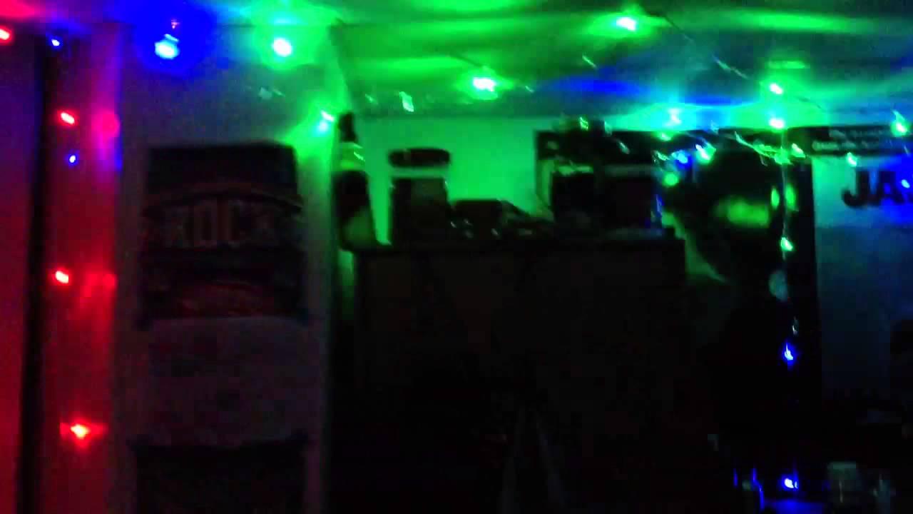 Dorm Room Light Show