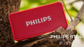 Philips BT64 Bluetooth Speaker Review - Better Than Portronics POSH?!?
