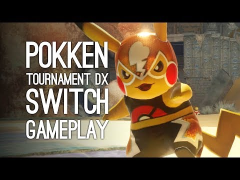 Pokken Tournament DX Gameplay: Let's Play Pokken Tournament on Nintendo Switch - PIKA LIBRE