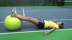 Tennis Fitness:  Tennis Injuries - Lower Back