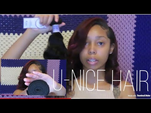 UNBOXING MY U-NICE HAIR | KYSIS NATURAL WAVE