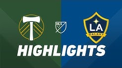 Portland Timbers vs. LA Galaxy | HIGHLIGHTS - July 27, 2019