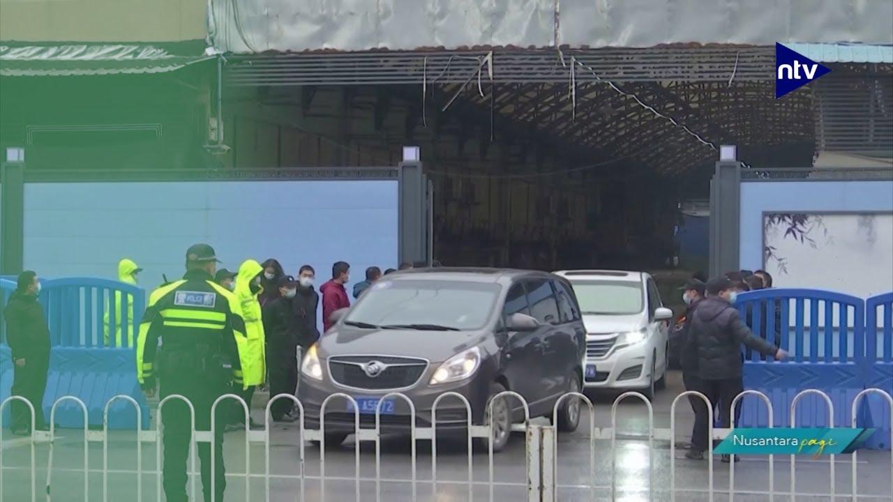 Tim WHO Kunjungi Pasar Huanan Asal Covid-19