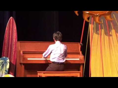 Colin Padilla  The Music School Palm Springs 2017 Spring recital