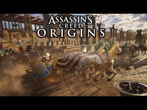 Assassins Creed Origins Playthrough Part 11 (PS4 PRO) Interactive Livestreamer And Chatroom
