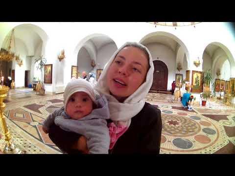 vlog 40# visiting russian orthodox  church !!!!