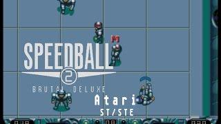 Speedball 2 : Brutal Deluxe - Atari ST (1990)