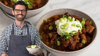 Slow Cooker Chili with a Twist!