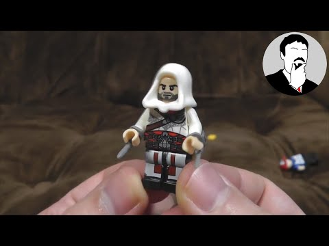 Not Lego: Pokémon, Assassin's Creed, Minecraft, Big Hero 6 | Ashens
