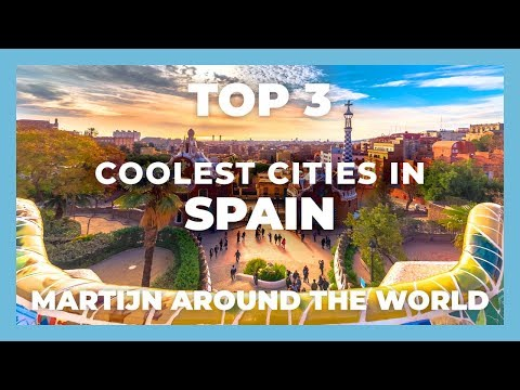Travel Top 3 Coolest Cities in Spain // Barcelona, Madrid, Valencia