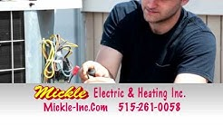 Residential Electrician in Des Moines - Mickle Electric and Heating