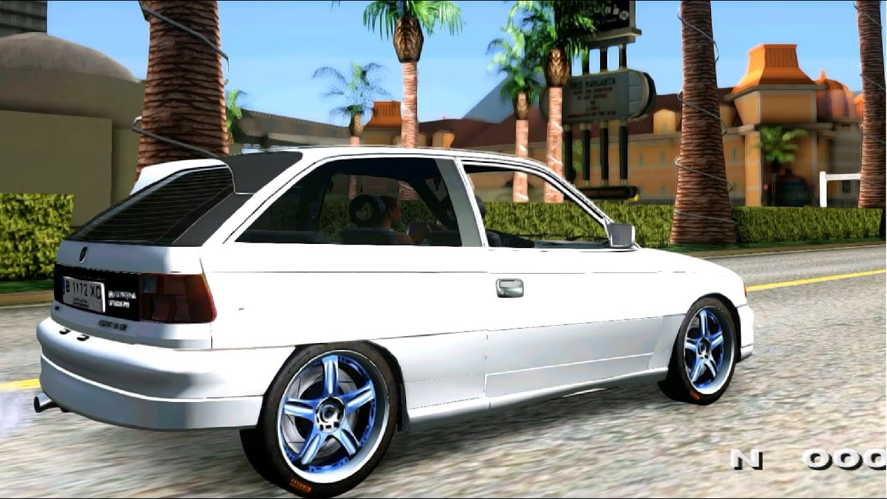 gta san andreas opel astra f tuning enromovies youtube. Black Bedroom Furniture Sets. Home Design Ideas