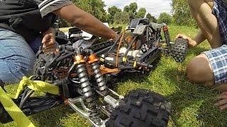 Rare King Motor KM T2000 4wd baja spotted...running RCMK motor