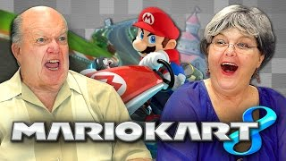 ELDERS PLAY MARIO KART 8 (Elders React: Gaming)