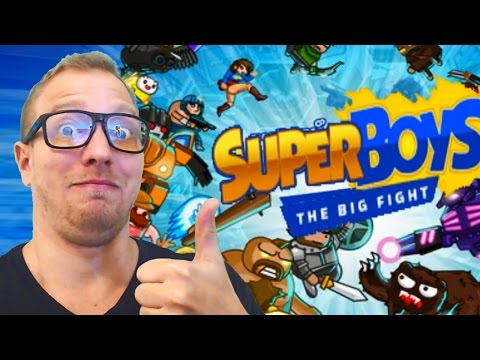 Superboys  Smash Bros Brawler  Mooff!