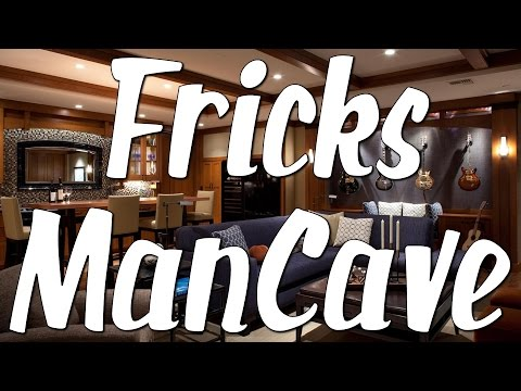 a Tour Through Frick's ManCave - March 2017
