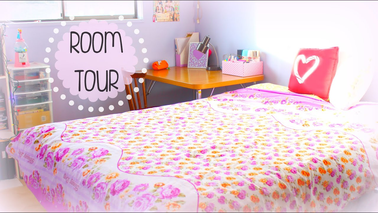 Teen Girl Room Tour 2015 JENerationDIY YouTube