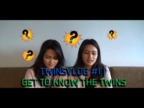 TWINSVLOG #1 | GET TO KNOW THE TWINS