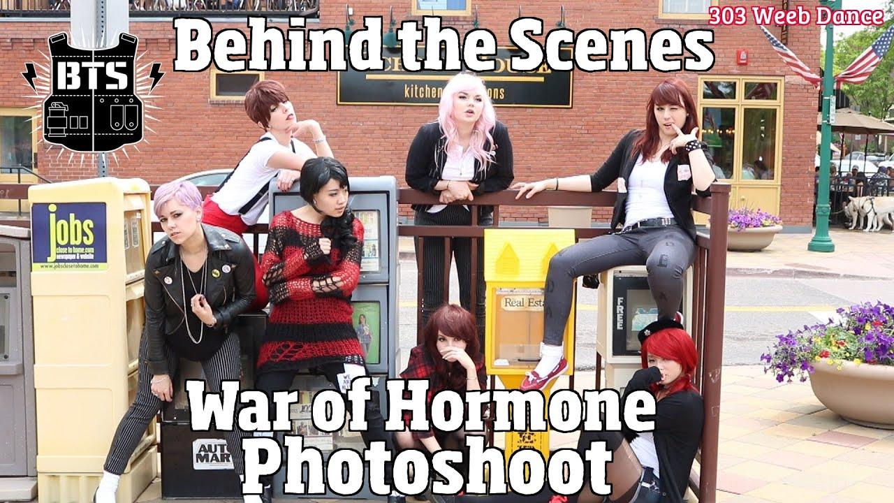 303 Wdc Bts War Of Hormone Photoshoot Vlog Youtube