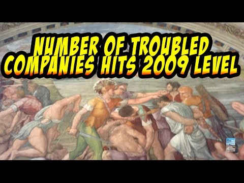 Failing Companies Hit 2009 Peak as U.S. Economy Plunging Faster Than Stock Market!