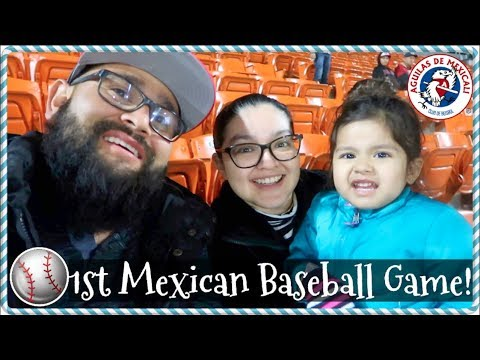 Aguilas de Mexicali Baseball Game! | December 14, 2017