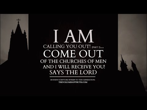 GOD REBUKES Christianity, Catholicism, Islam & This Generation! (I Am Calling You Out, PART 2)