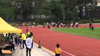 屯門區小學田徑賽男甲一百米決賽