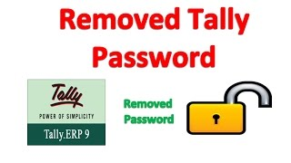 How to Removed Tally Password
