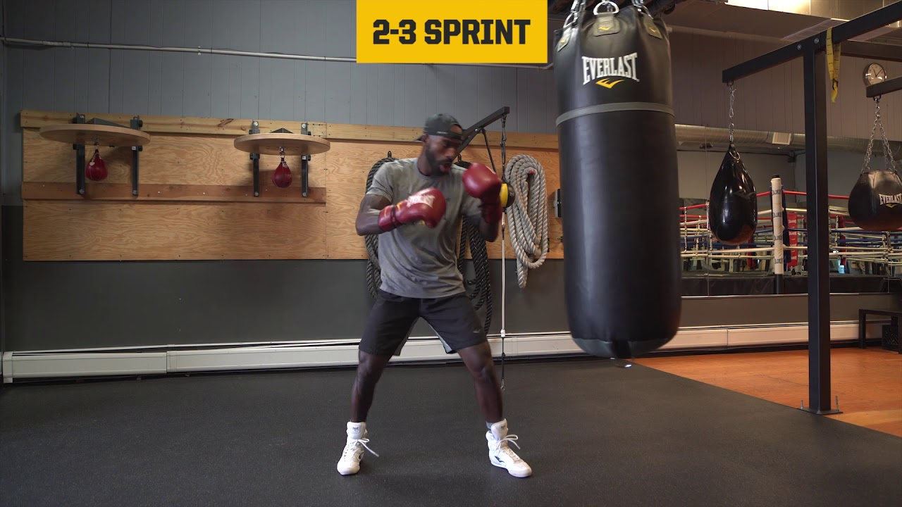 690b3f0b372 Everlast The Movement Lab  3 Round Heavy Bag Boxing Circuit - YouTube