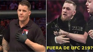Video McGregor SANCIONADO y fuera de UFC 219?; Ex Campeón de la WWE se pasa a las MMA download MP3, 3GP, MP4, WEBM, AVI, FLV September 2018