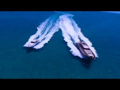 Fast Italian Super Yachts Running in the Bahamas