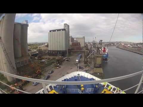 Wind Perfection (ex Julia) departing Cork Harbour