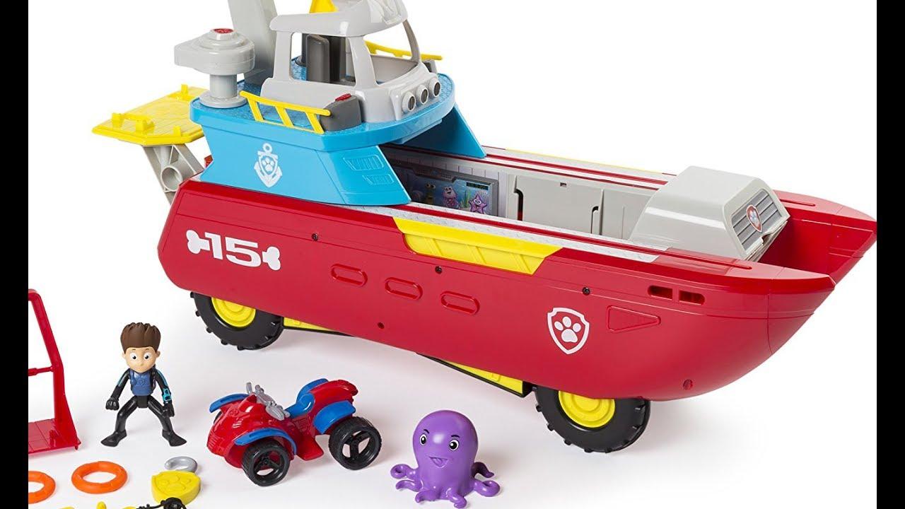 la patrulla canina guardia costera barco sea patroller juguete