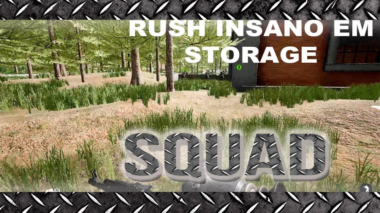Squad Clã BKS, Rush Insano em Storage, squad lider Guaxininxo.
