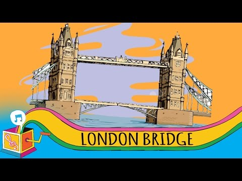 London Bridge Is Falling Down | Nursery Rhyme | Karaoke