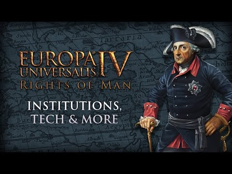 EU IV - Rights of Man -  Institutions, Tech & More