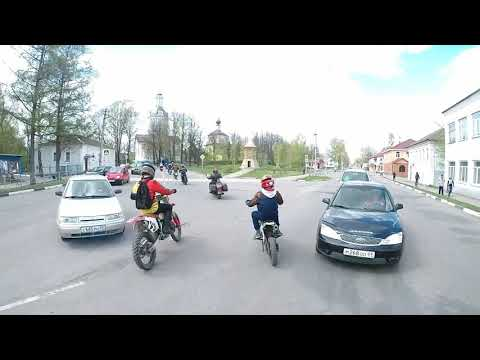 Открытие мотосезона в Торопце 04.05.2019