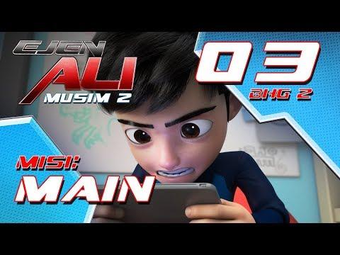 Ejen Ali - Musim 2 (EP03) - Misi : Main [Bahagian 2]