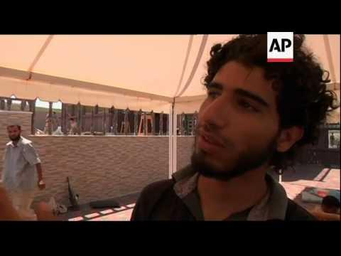 Gadhafi beach house becomes barracks, private jet
