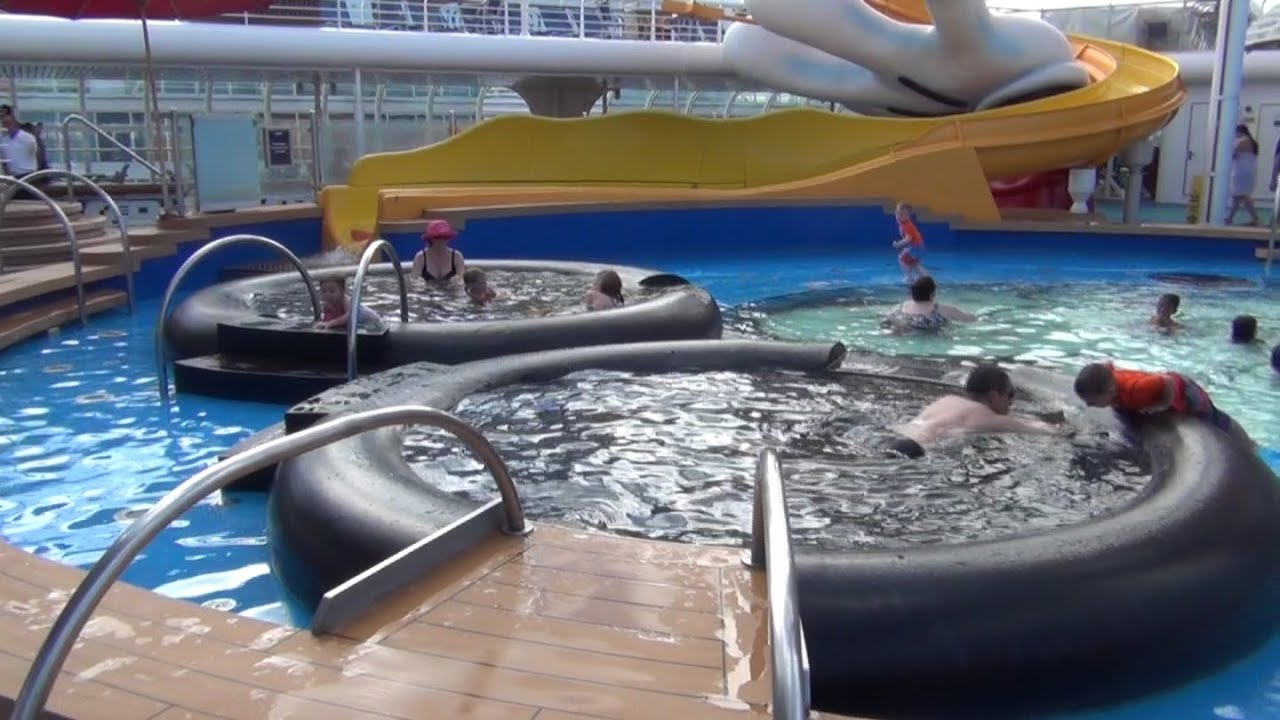 disney cruise line   disney wonder cruise ship tour   deck