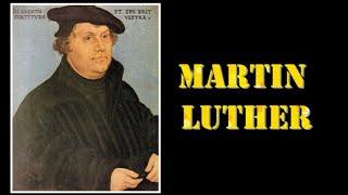 Pdt. Esra Soru : MARTIN LUTHER