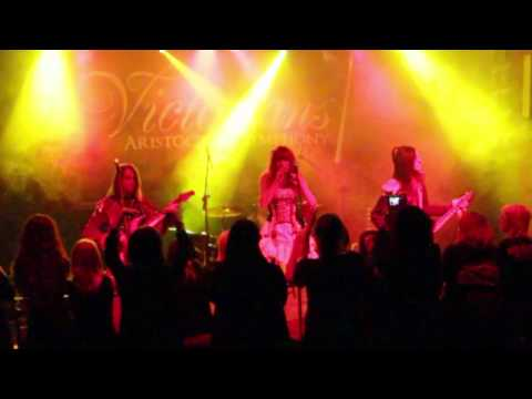 symphonic female metal band top best singer - Victorians - Aristocrats' Symphony - Prince of Night