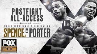 Errol Spence Jr. vs. Shawn Porter Postfight All-Access | PBC ON FOX